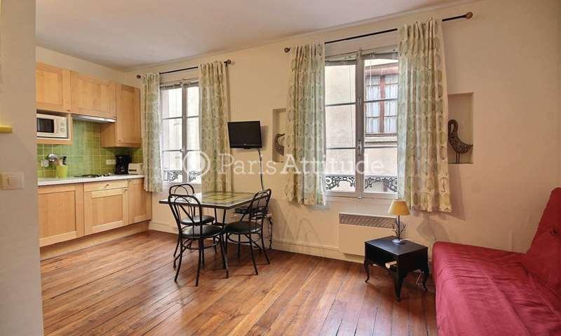 Location Appartement Studio 24m² rue Boutarel, 75004 Paris