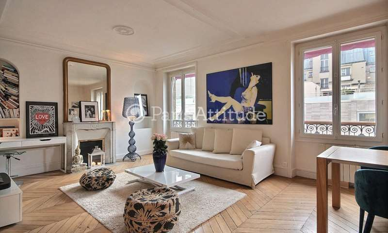 Rent Apartment 1 Bedroom 60m² rue Leopold Bellan, 2 Paris