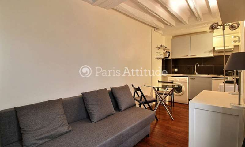 Rent Apartment 1 Bedroom 25m² rue Debelleyme, 3 Paris