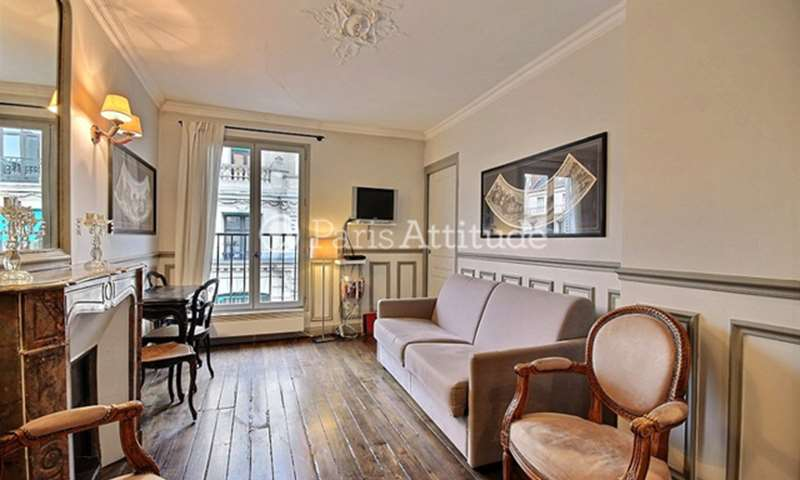 Rent Apartment 1 Bedroom 38m² rue du Louvre, 75001 Paris