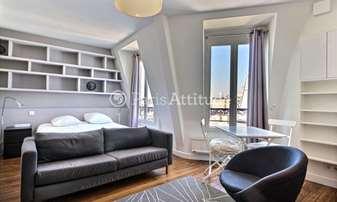 Location Appartement Alcove Studio 30m² cite Condorcet, 9 Paris