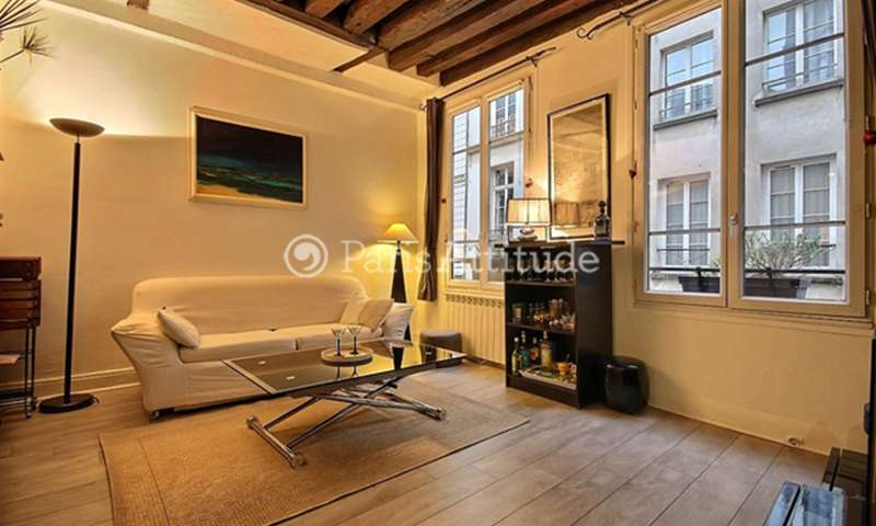 Rent Apartment 1 Bedroom 35m² rue Saint Martin, 75004 Paris