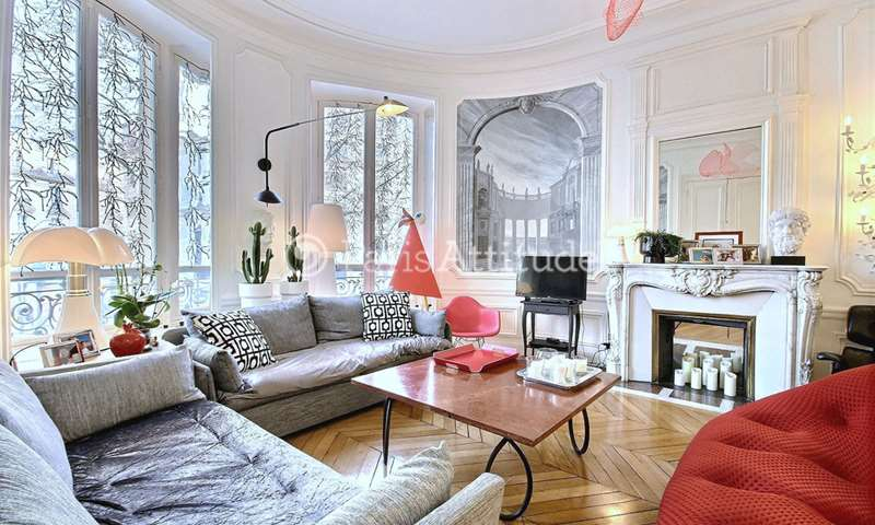 Rent Apartment 3 Bedrooms 145m² avenue Marceau, 16 Paris