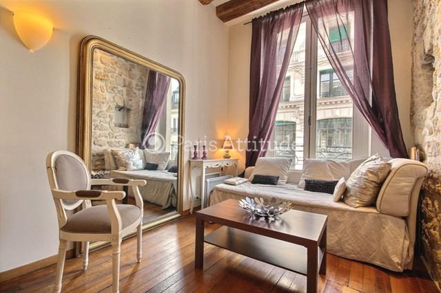 Location Appartement 1 Chambre 38m² rue du Louvre, 75001 Paris
