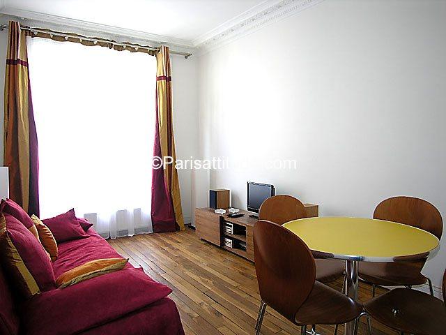 Louer Appartement meublé 1 Chambre 37m² rue de Tretaigne, 75018 Paris