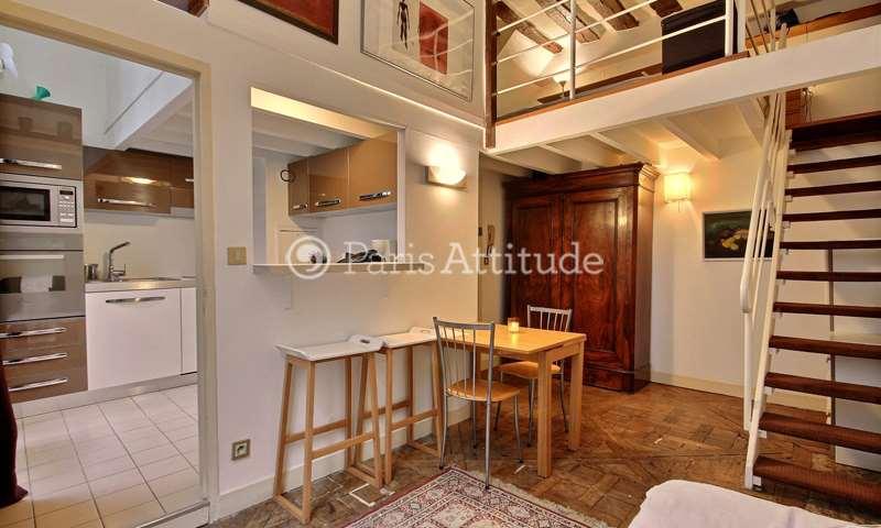 Aluguel Duplex 1 quarto 38m² rue de Braque, 3 Paris
