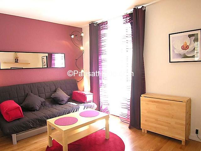 Rent Apartment Studio 20m² Villa Saint Charles, 75015 Paris