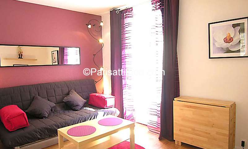 Rent Apartment Studio 20m² Villa Saint Charles, 15 Paris