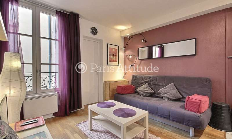 Location Appartement Studio 19m² Villa Saint Charles, 15 Paris
