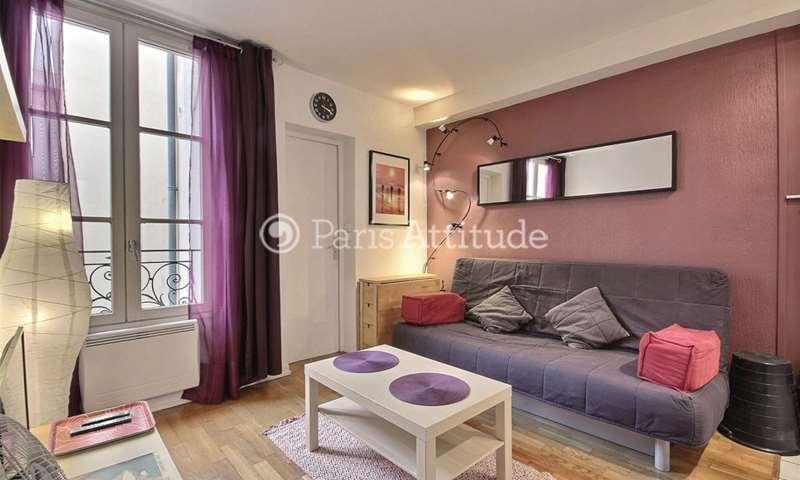 Rent Apartment Studio 19m² Villa Saint Charles, 15 Paris