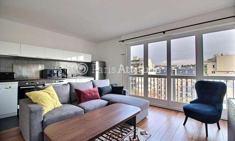 Rent Apartment 2 Bedrooms 50m² rue emile Dubois, 14 Paris