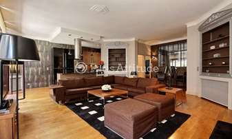 Rent Apartment 2 Bedrooms 120m² rue Juliette Lamber, 17 Paris