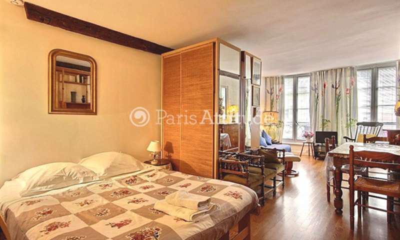 Rent Apartment Alcove Studio 36m² rue François Miron, 75004 Paris