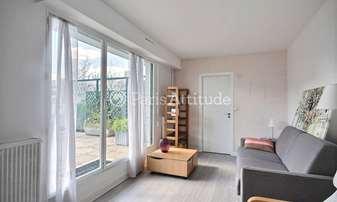 Rent Apartment Studio 27m² rue Rosenwald, 15 Paris
