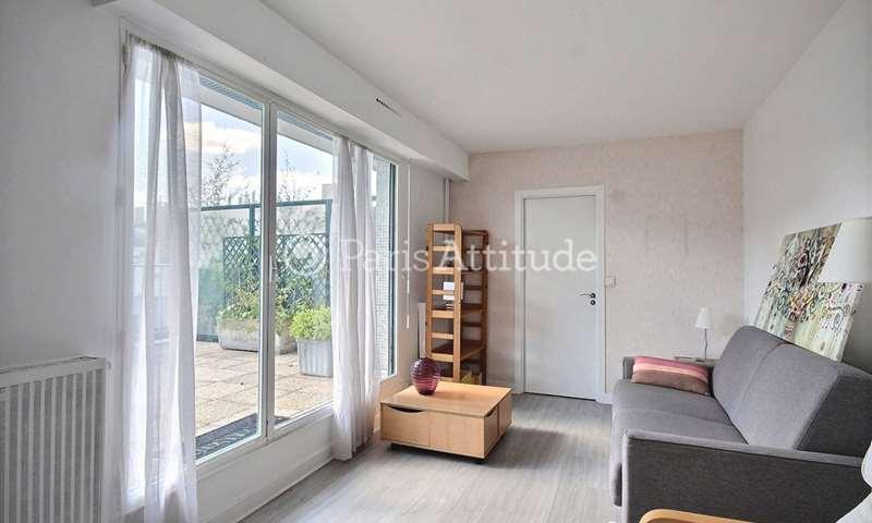 Location Appartement Studio 27m² rue Rosenwald, 15 Paris