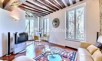 Rent Apartment 2 Bedrooms 80m² Quai de la Tournelle, 5 Paris