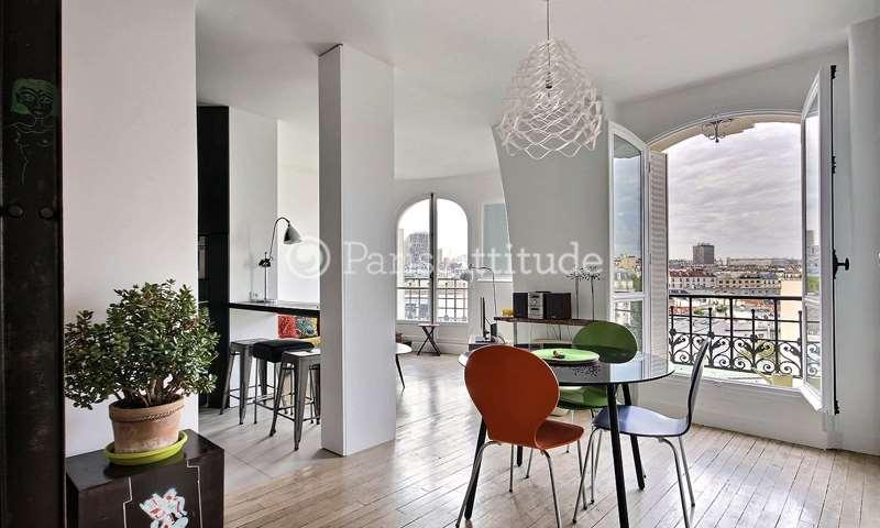 Location Appartement 1 Chambre 42m² rue de Mirbel, 5 Paris