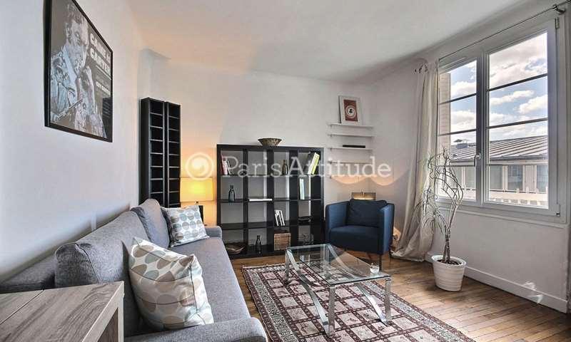Location Appartement 1 Chambre 41m² rue Dautancourt, 17 Paris