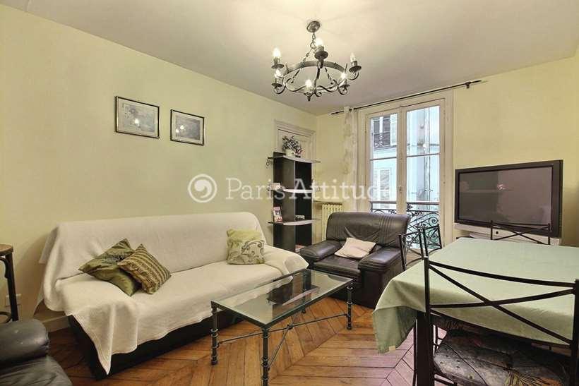 Rent furnished Apartment Alcove Studio 33m² place Jussieu, 75005 Paris