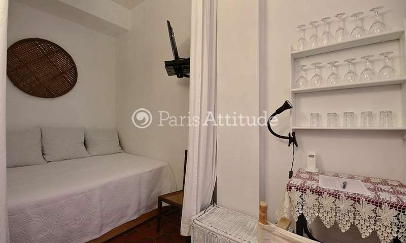 Location Appartement Alcove Studio 23m² rue Meslay, 3 Paris