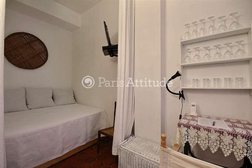 Louer Appartement meublé Alcove Studio 23m² rue Meslay, 75003 Paris