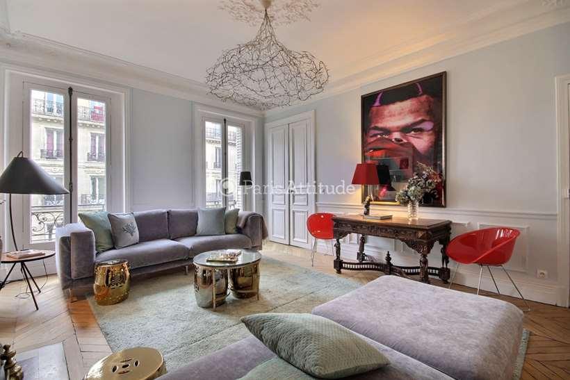 Rent furnished Apartment 2 Bedrooms 110m² rue du Temple, 75003 Paris