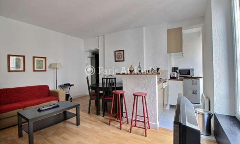 Location Appartement 1 Chambre 35m² rue Sedaine, 75011 Paris