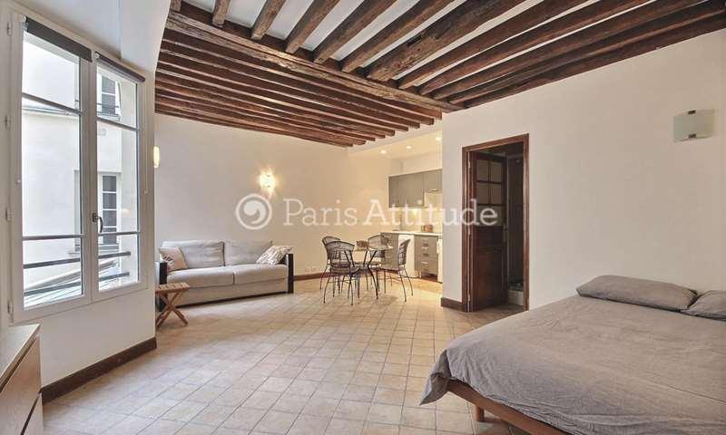 Location Appartement Studio 36m² rue de Montmorency, 3 Paris