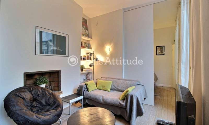 Location Appartement Alcove Studio 27m² rue de Seine, 75006 Paris