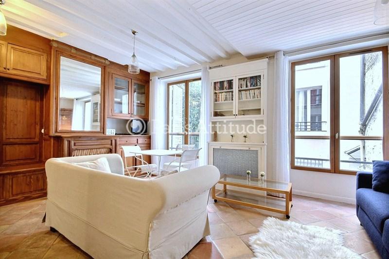 Location Appartement Studio 34m² rue Rollin, 75005 Paris