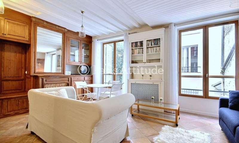 Location Appartement Studio 34m² rue Rollin, 5 Paris