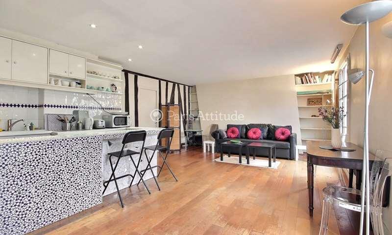 Rent Apartment 2 Bedrooms 70m² rue Keller, 11 Paris