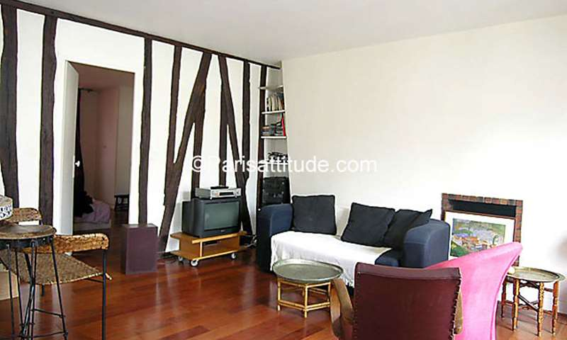 Rent Apartment 2 Bedroom 70m² rue Keller, 75011 Paris