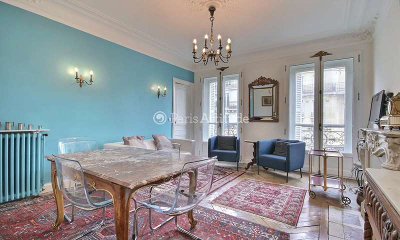 Rent Apartment 3 Bedrooms 80m² rue de Turbigo, 3 Paris