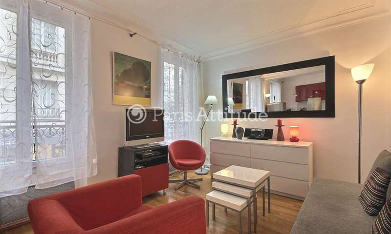 Rent Apartment 1 Bedroom 37m² rue Rennequin, 17 Paris