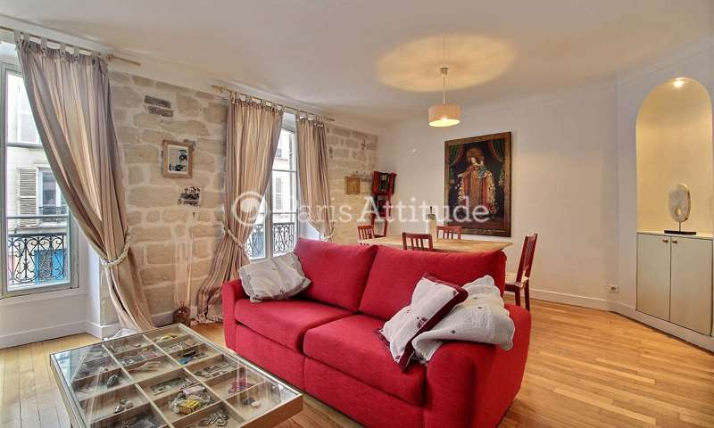 Rent Apartment 1 Bedroom 46m² rue Legendre, 75017 Paris