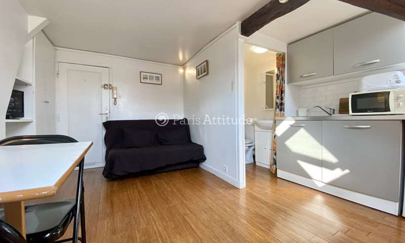 Rent Apartment Studio 15m² rue Rambuteau, 4 Paris