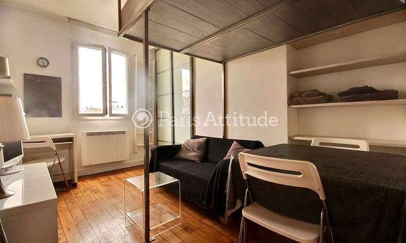 Rent Apartment Studio 20m² rue de la Fontaine Au Roi, 11 Paris