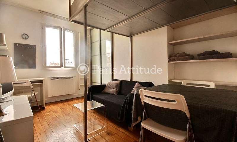 Location Appartement Studio 20m² rue de la Fontaine Au Roi, 75011 Paris
