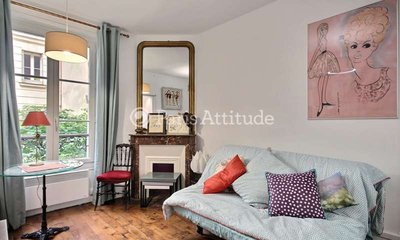 Rent Apartment Studio 16m² rue de Saussure, 17 Paris