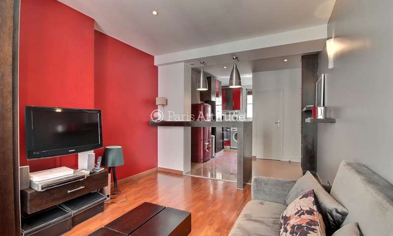Rent Apartment 1 Bedroom 29m² rue des Trois Freres, 75018 Paris