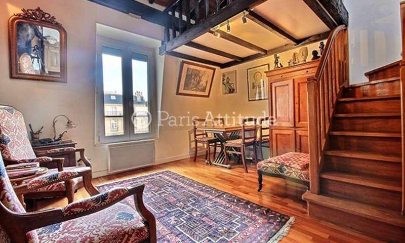 Aluguel Duplex Studio 35m² rue des Arquebusiers, 75003 Paris