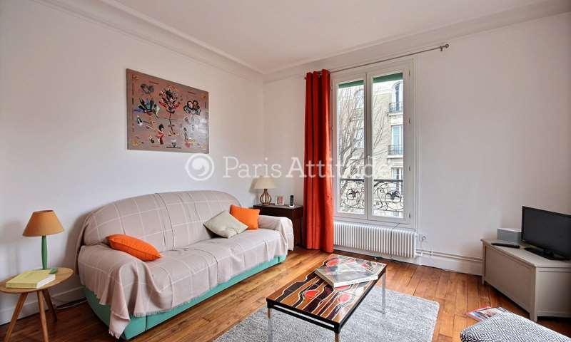 Rent Apartment 1 Bedroom 45m² Villa Armand, 18 Paris