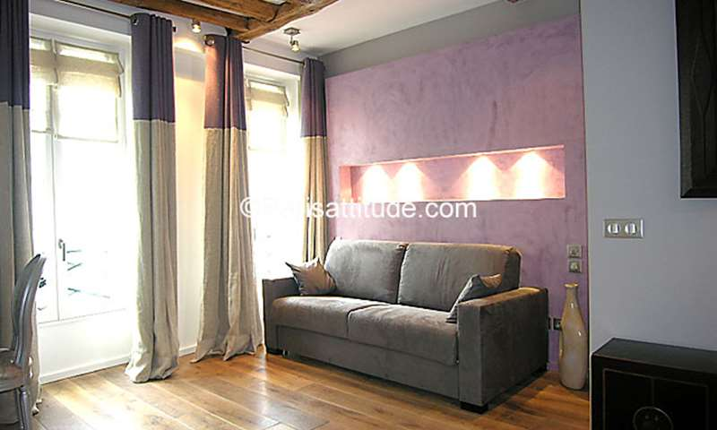 Location Appartement Studio 30m² rue du Roi de Sicile, 75004 Paris