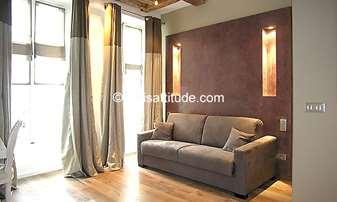 Rent Apartment Studio 30m² rue du Roi de Sicile, 4 Paris