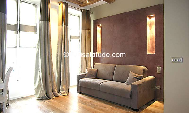 Rent Apartment Studio 30m² rue du Roi de Sicile, 75004 Paris