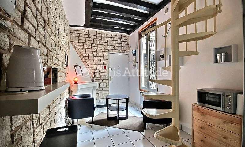 Rent Duplex 1 Bedroom 25m² rue de l echiquier, 75010 Paris