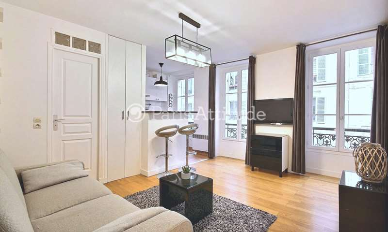 Location Appartement Studio 26m² rue des Rosiers, 75004 Paris