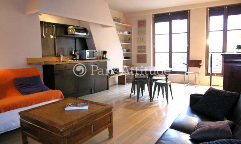 Location Appartement 1 Chambre 45m² rue Saint Louis en l Île, 75004 Paris