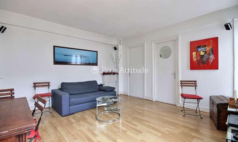 Rent Apartment 1 Bedroom 37m² rue du Dobropol, 17 Paris